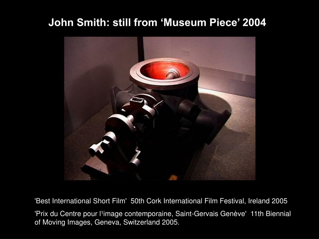 John Smith: still from 'Museum Piece' 2004