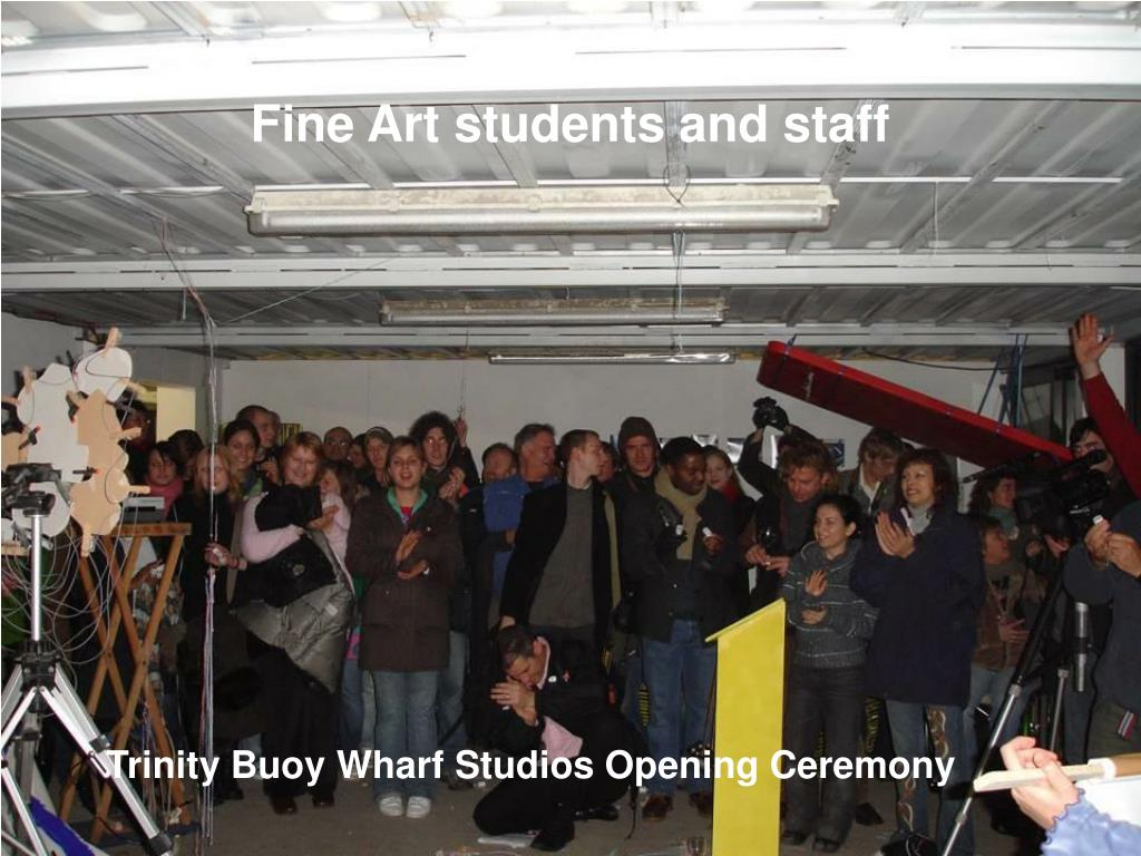 Fine Art students and staff