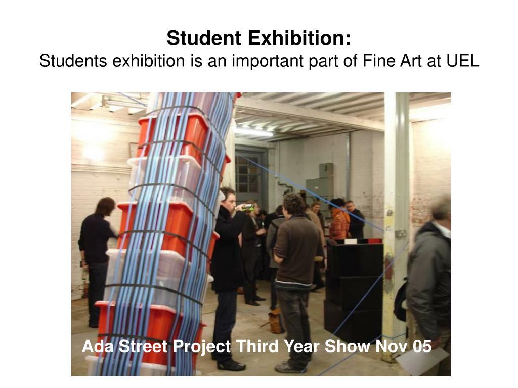 Student Exhibition: