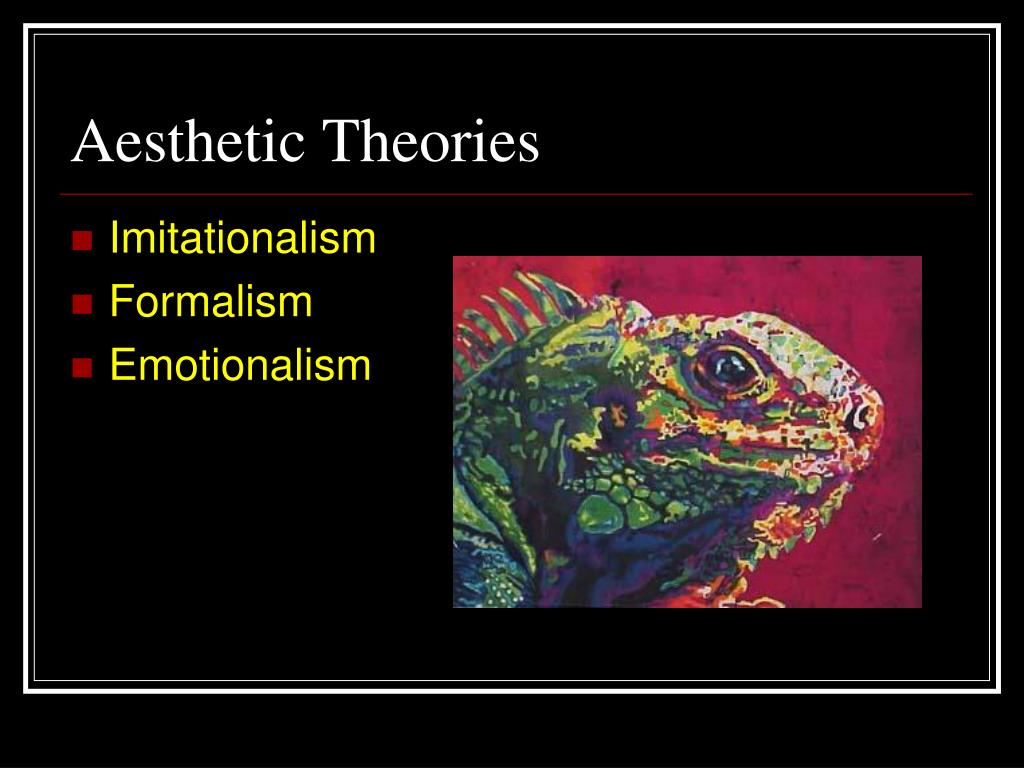Aesthetic Theories