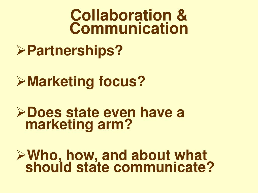 Collaboration & Communication