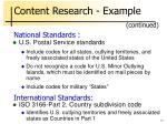content research example13