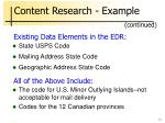 content research example14