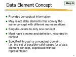 data element concept