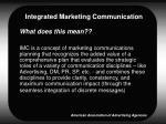 integrated marketing communication5