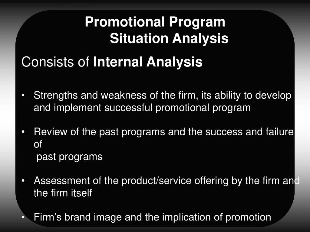 Promotional Program