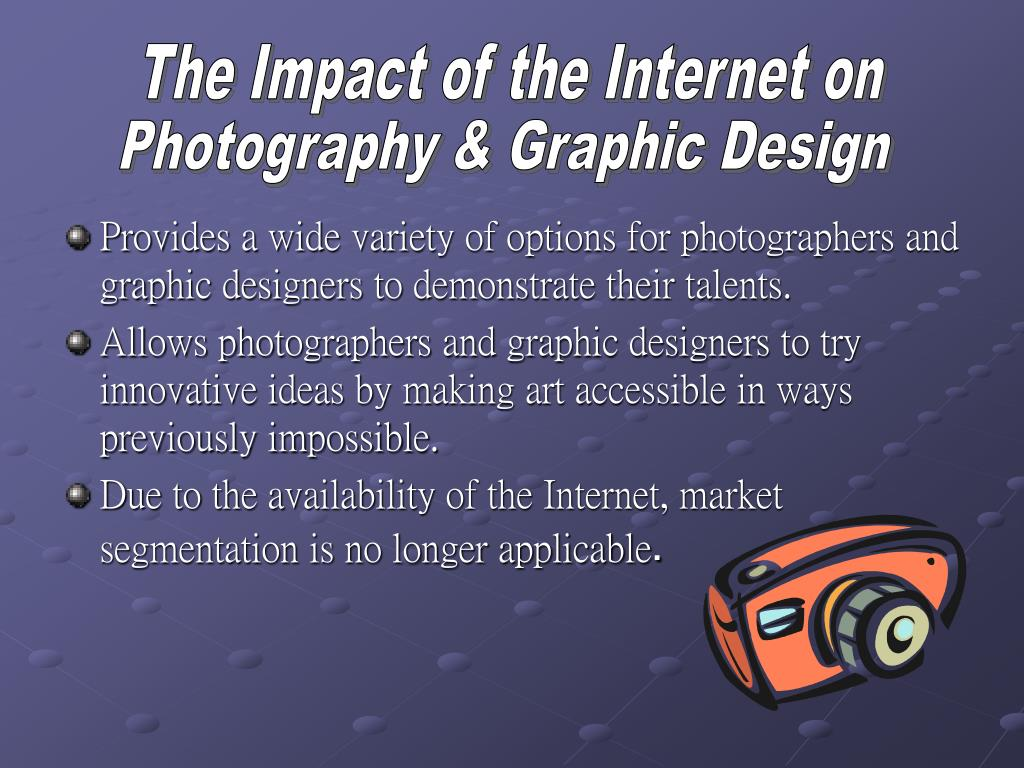 Provides a wide variety of options for photographers and graphic designers to demonstrate their talents.