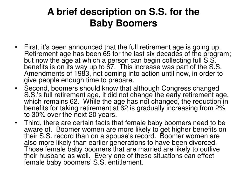 A brief description on S.S. for the