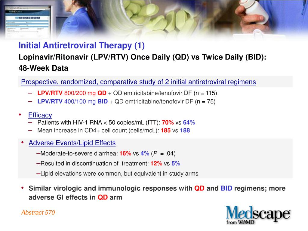 Initial Antiretroviral Therapy (1)
