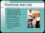 exercise and cad33