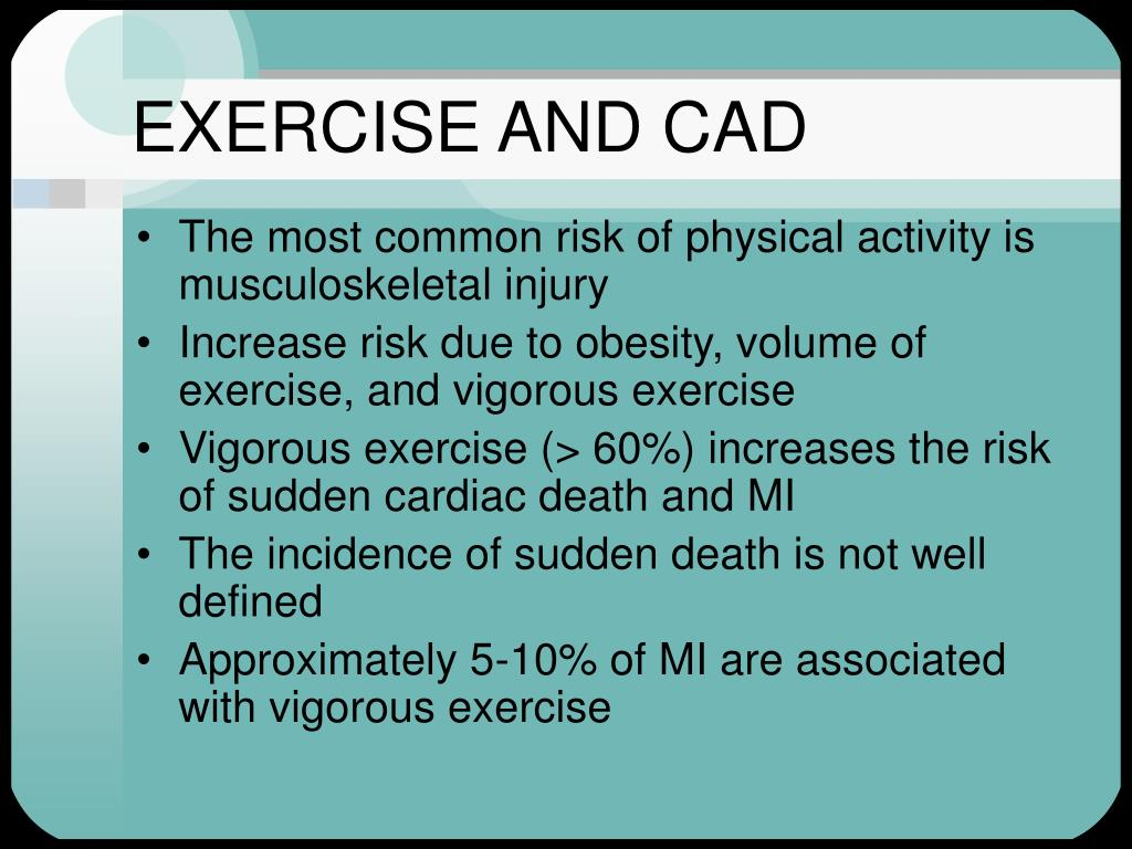 EXERCISE AND CAD