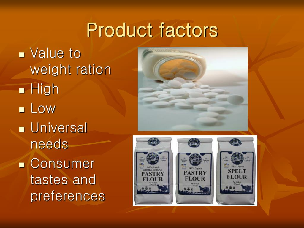 Product factors