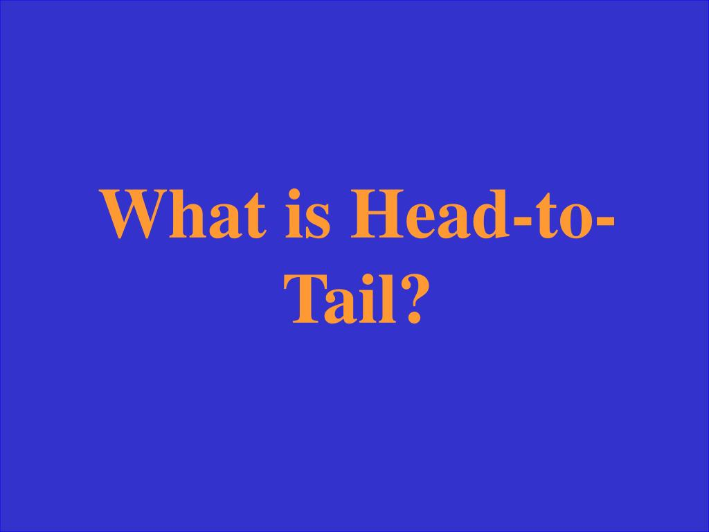 What is Head-to-Tail?