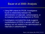 bauer et al 2000 analysis