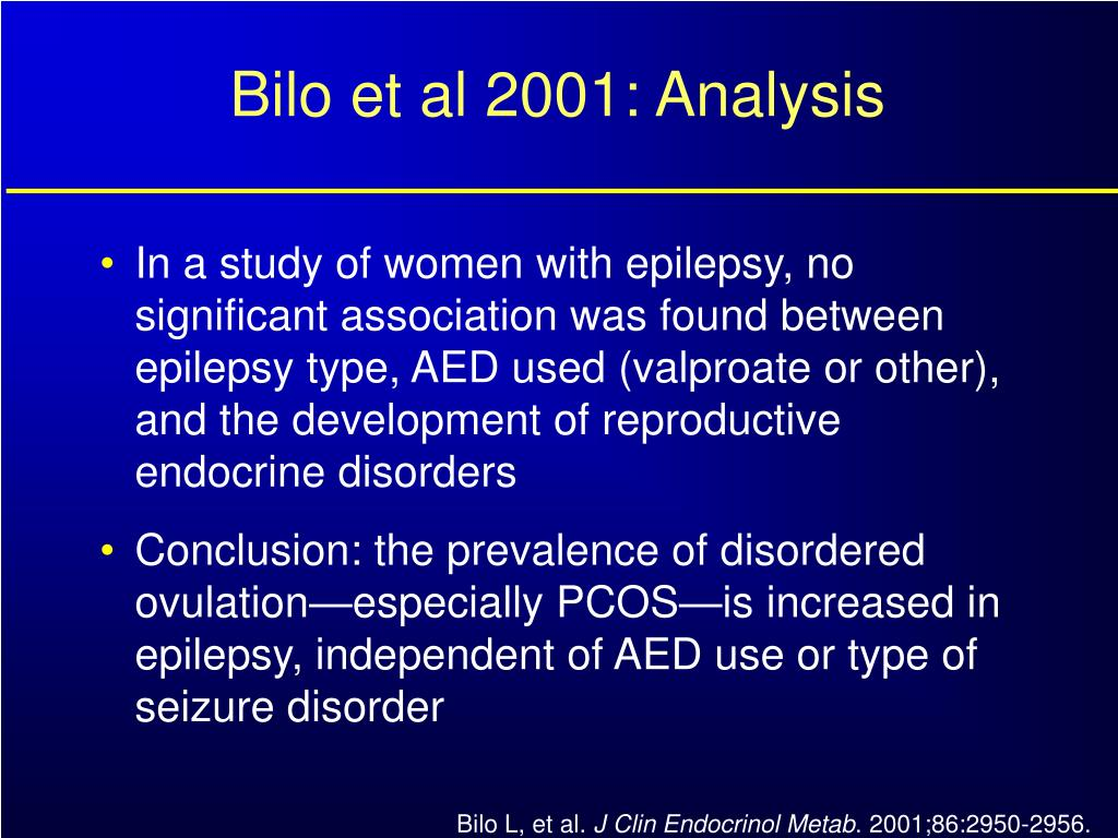 Bilo et al 2001: Analysis