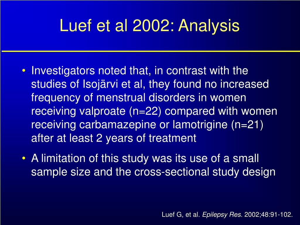 Luef et al 2002: Analysis