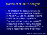 morrell et al 2002 analysis