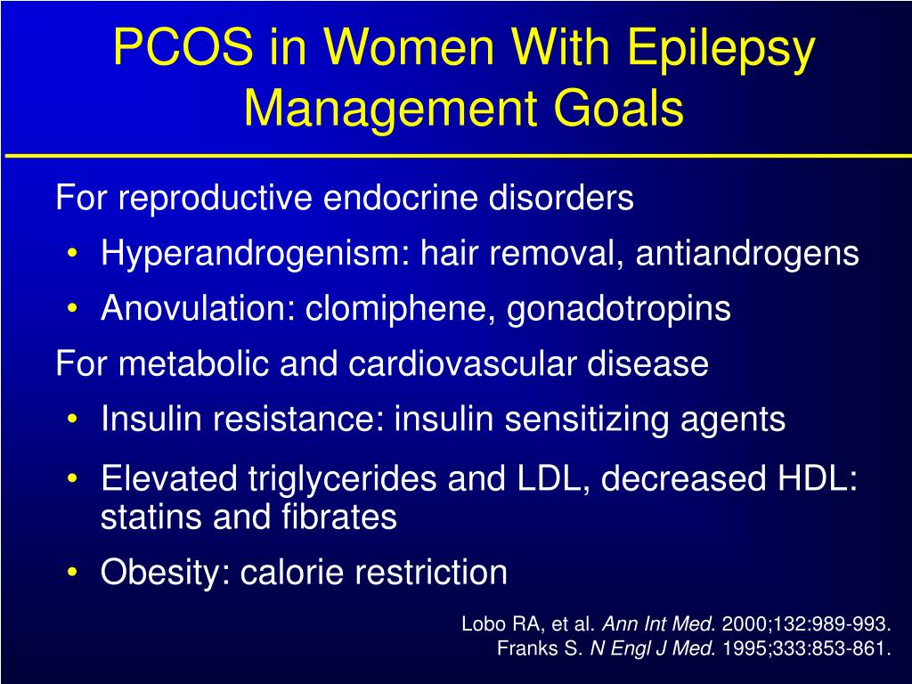 PCOS in Women With Epilepsy