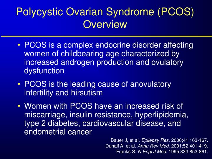 Polycystic ovarian syndrome pcos overview
