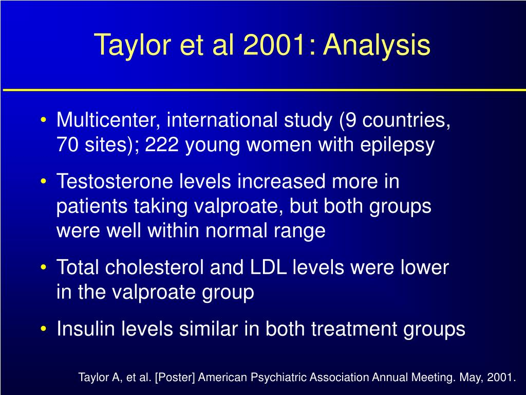 Taylor et al 2001: Analysis
