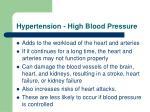 hypertension high blood pressure