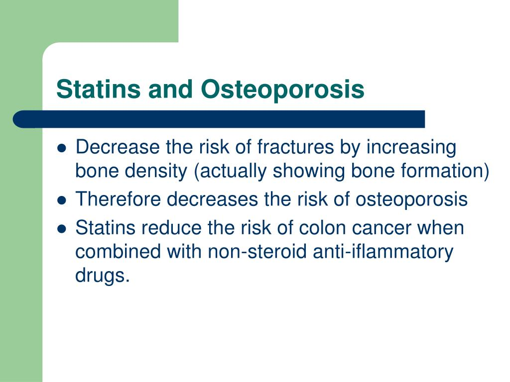 Statins and Osteoporosis