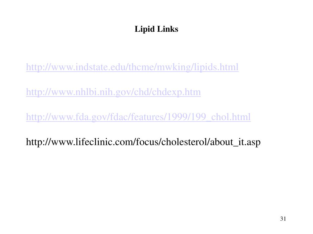 Lipid Links