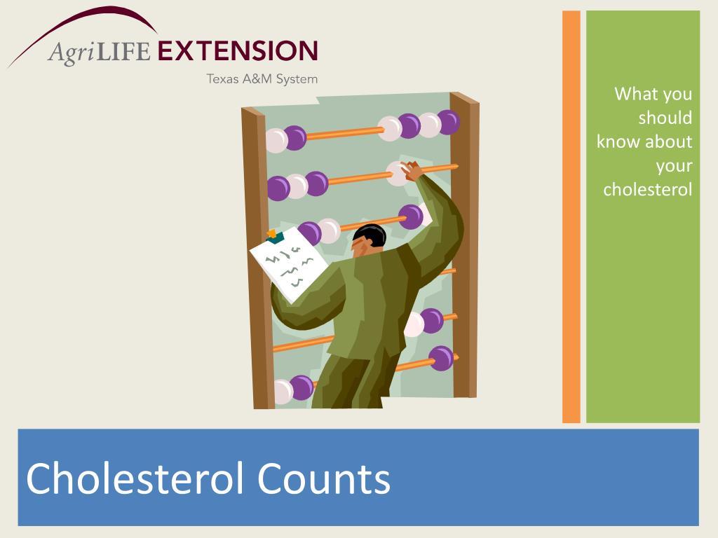 Cholesterol Counts