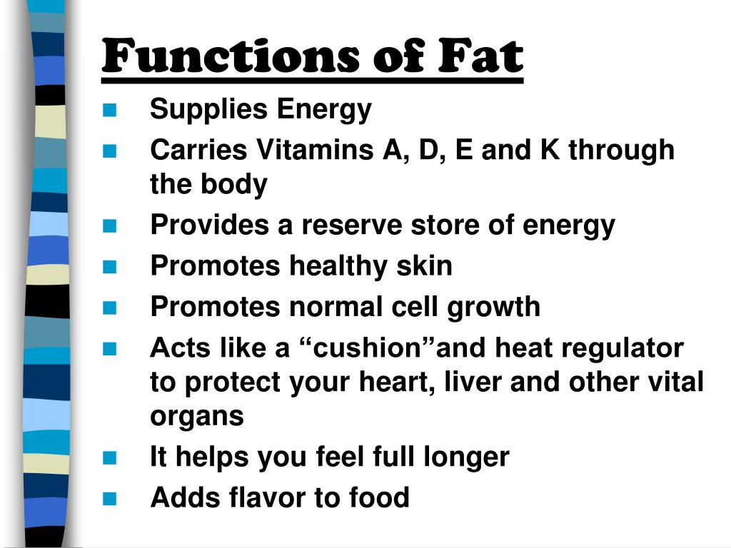 Functions of Fat
