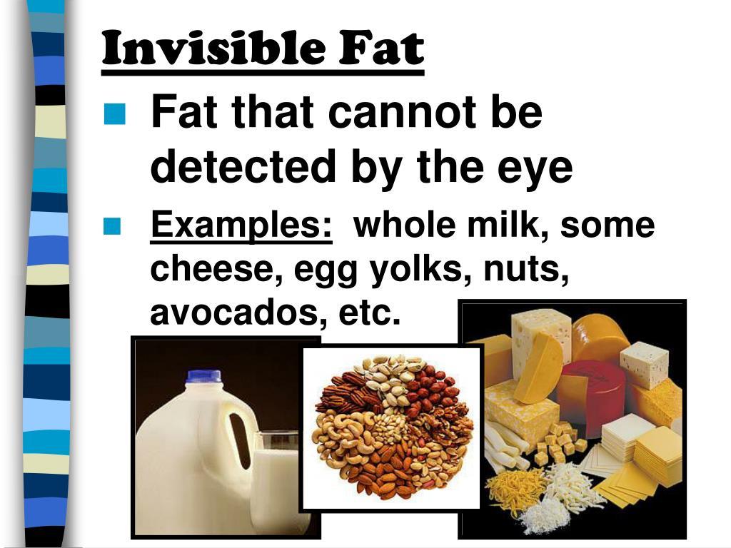 Invisible Fat