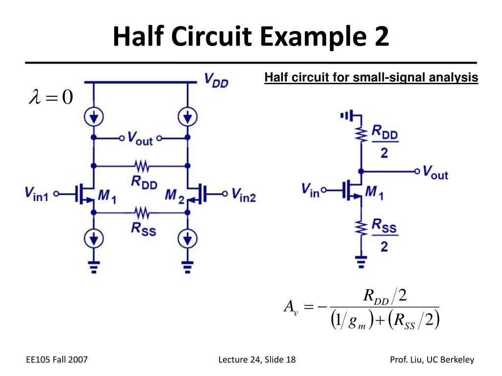 Half Circuit Example 2