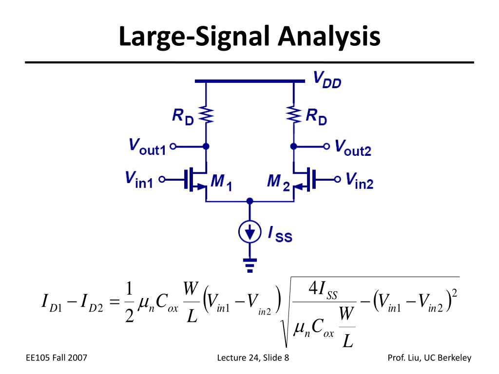 Large-Signal Analysis