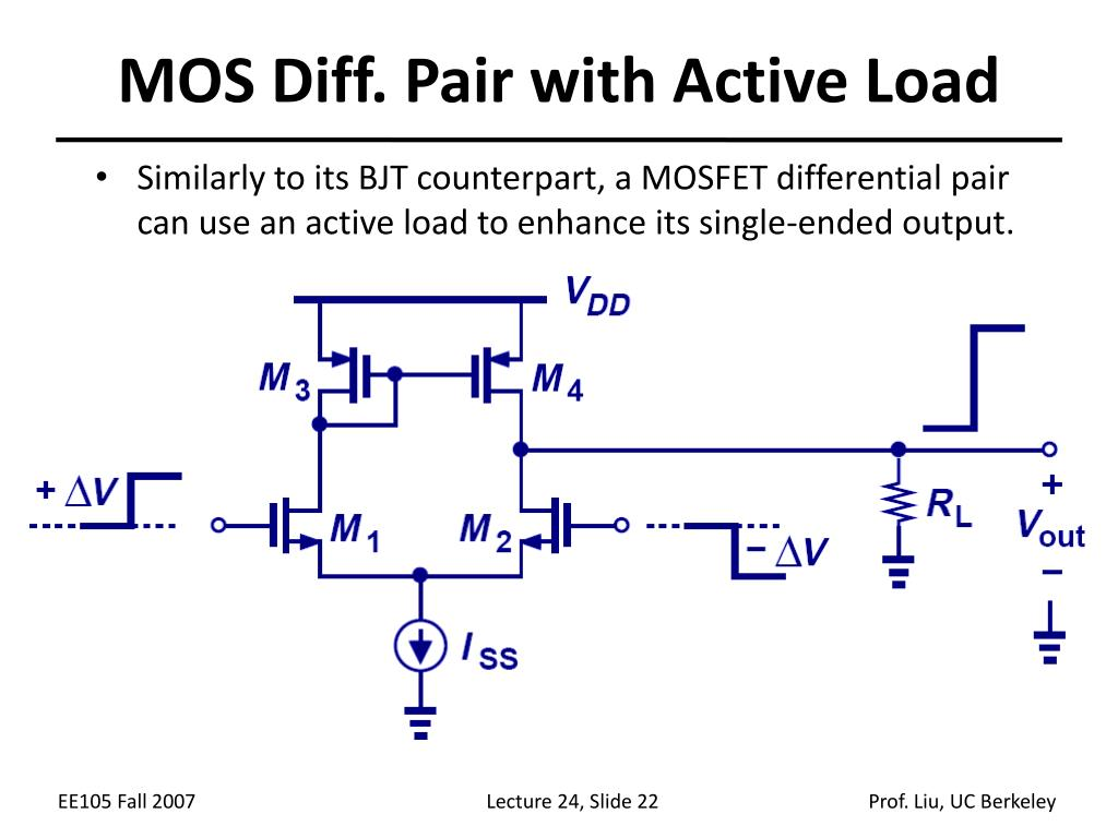 MOS Diff. Pair with Active Load