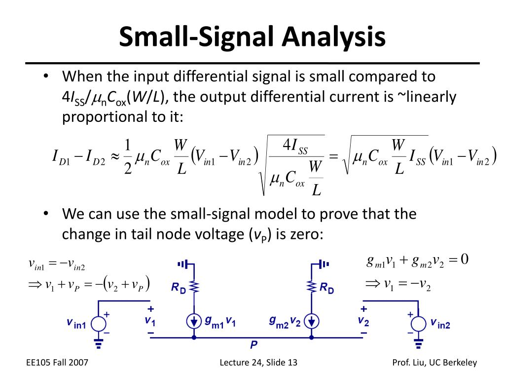 Small-Signal Analysis