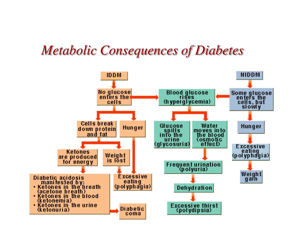 Metabolic Consequences of Diabetes