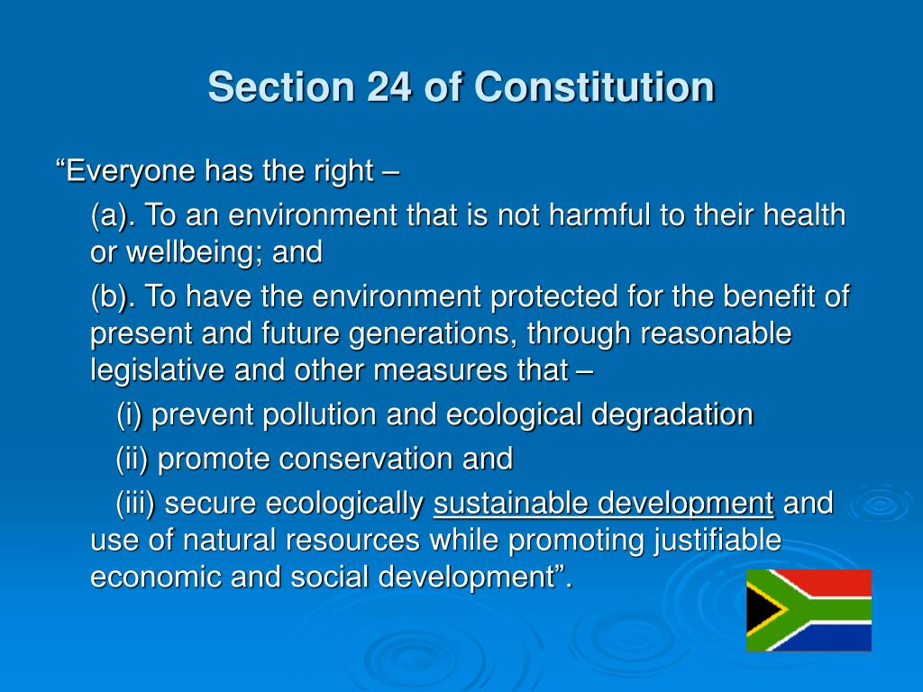 Section 24 of Constitution