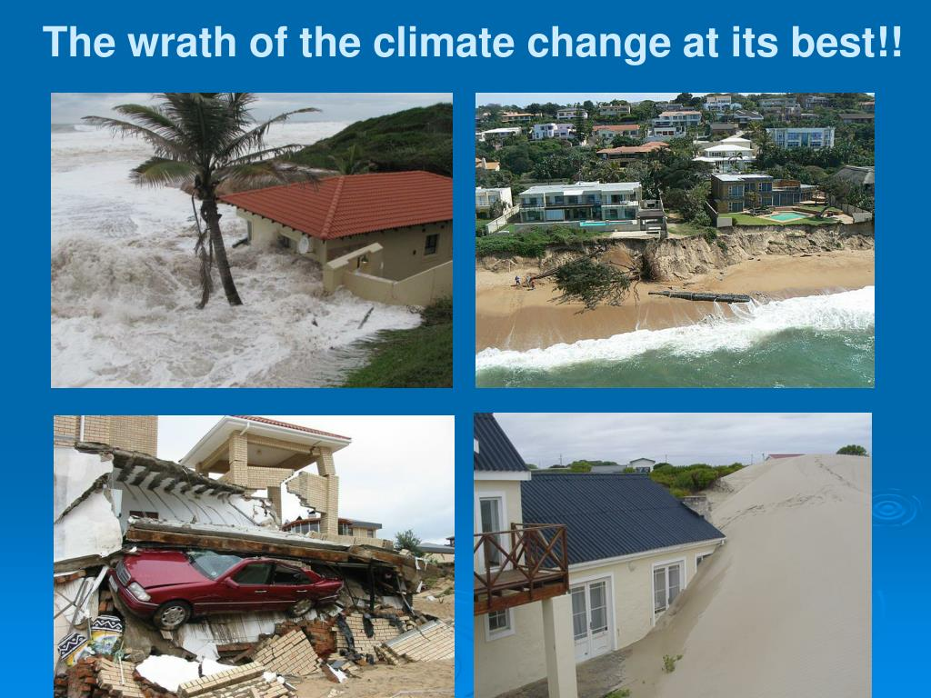 The wrath of the climate change at its best!!
