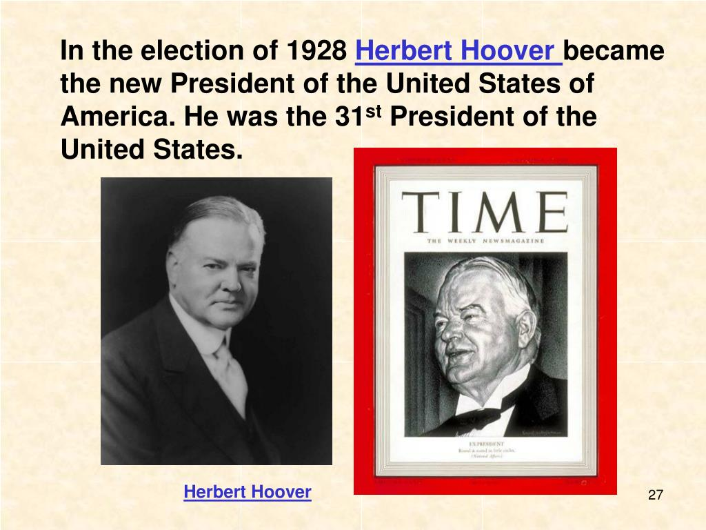 account of the 1928 presidential election in america Prejudice and the old politics this re-evaluation of the 1928 presidential election gives a vivid portrait of the whole foods market america's healthiest.