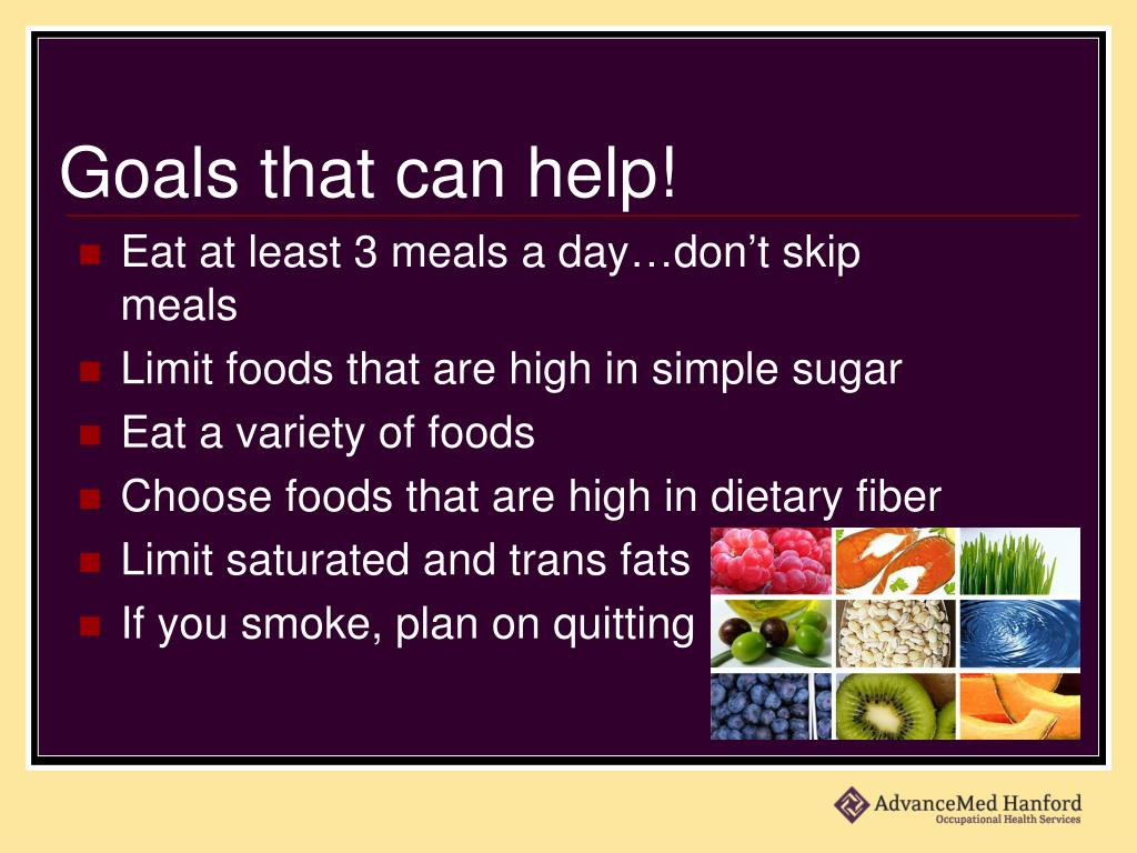 Goals that can help!
