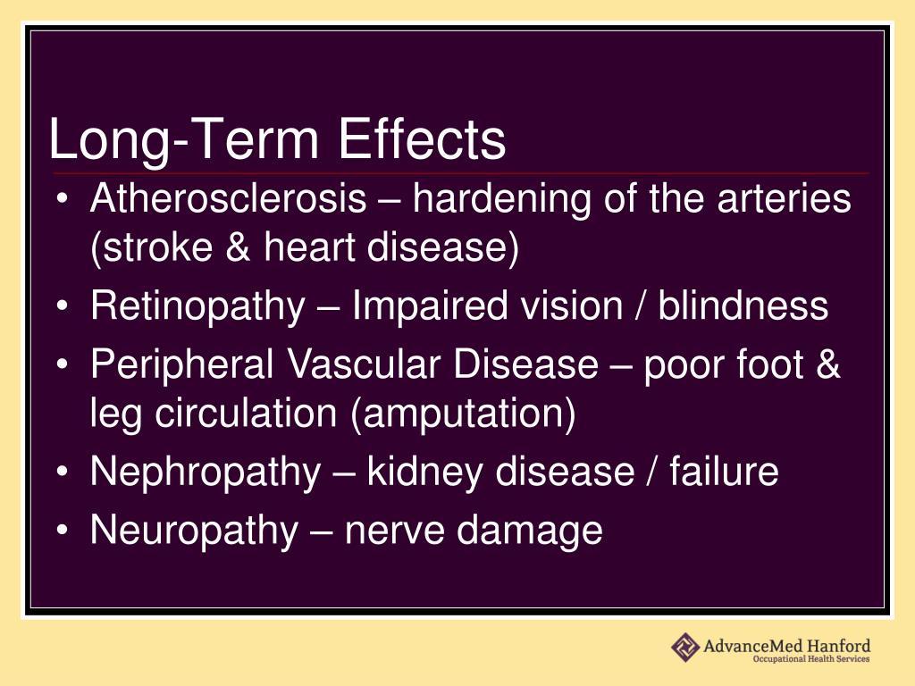 Long-Term Effects