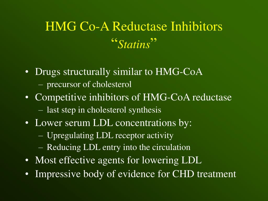 HMG Co-A Reductase Inhibitors