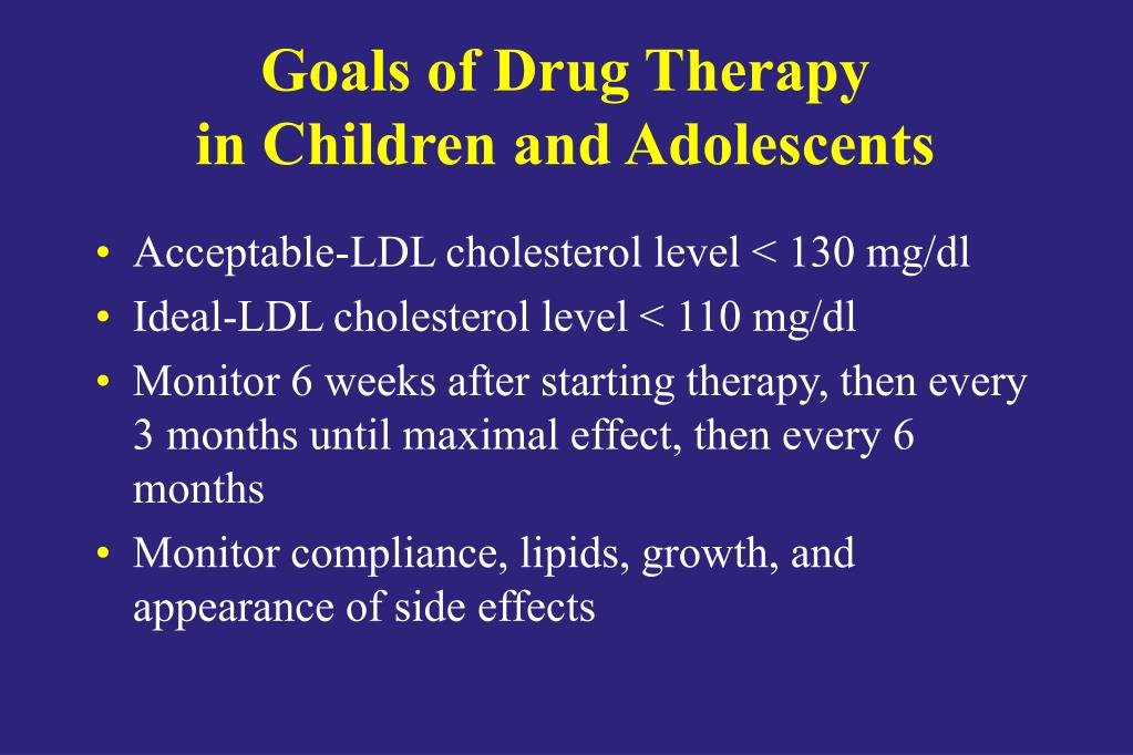 Goals of Drug Therapy