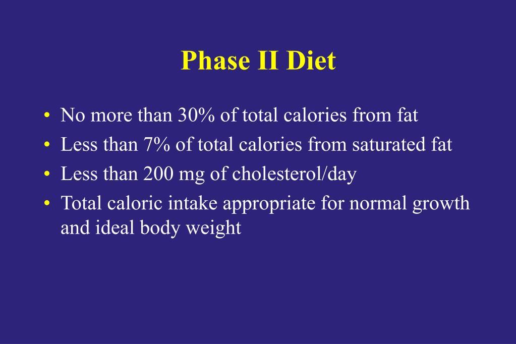 Phase II Diet