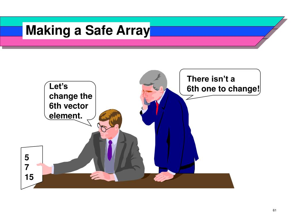 Making a Safe Array
