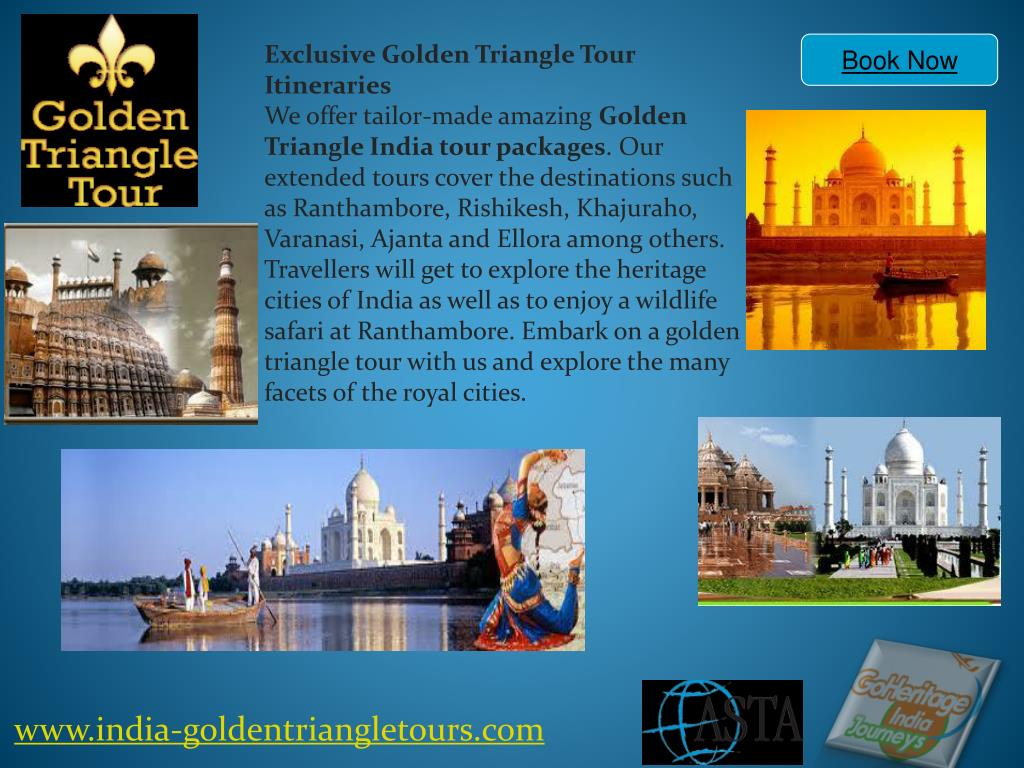 Exclusive Golden Triangle Tour Itineraries