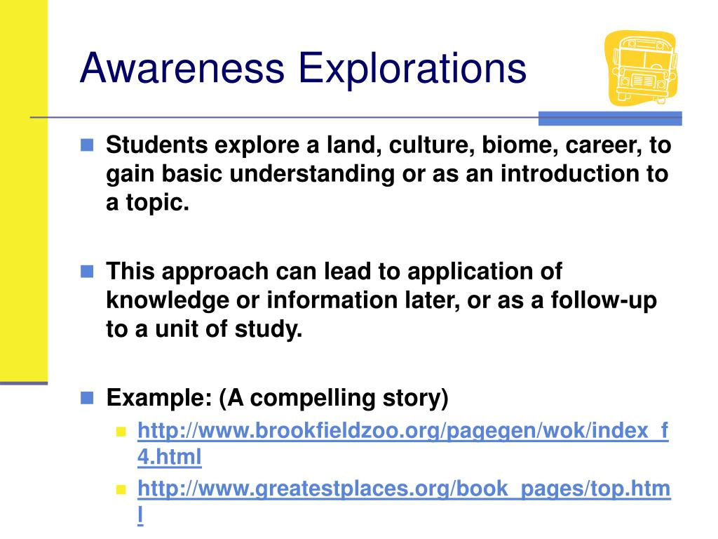 Awareness Explorations