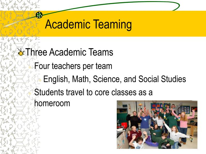 Academic teaming