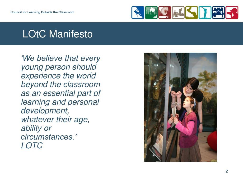 LOtC Manifesto