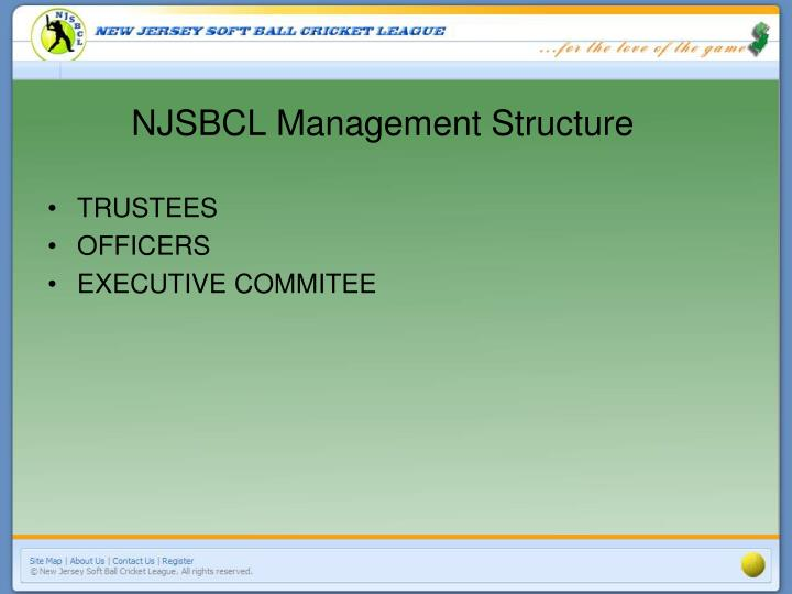 Njsbcl management structure l.jpg