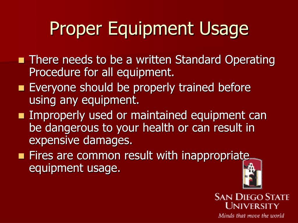 proper equipment Effective cleaning and sanitizing procedures scrapers, foaming equipment, water guns, etc • brushes—proper stiffness.